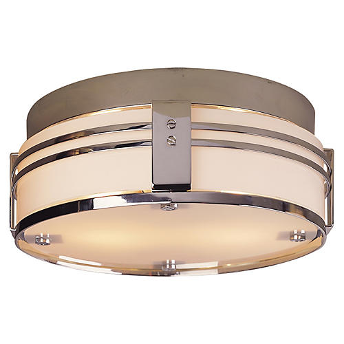Ted Flush Mount, Chrome