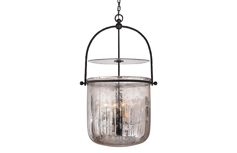 Lorford Smoke Bell Lantern, Aged Iron