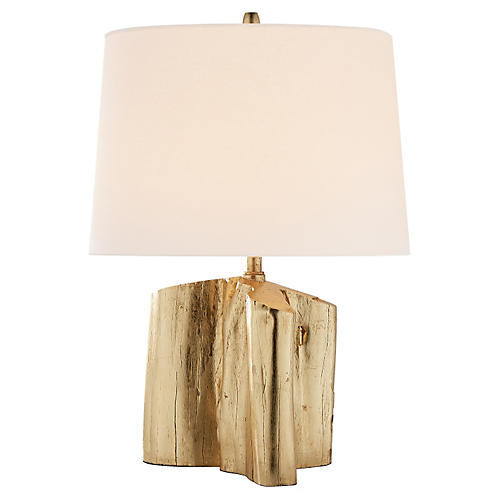 Carmel Table Lamp, Gild