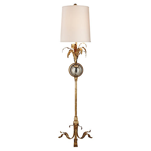Gramercy Table Lamp, Gilded Iron