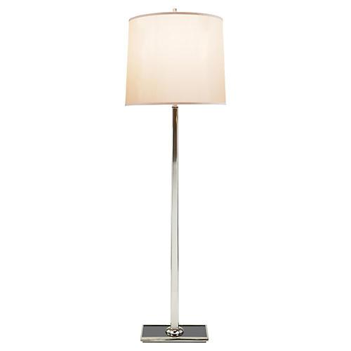 Petal Floor Lamp, Soft Silver