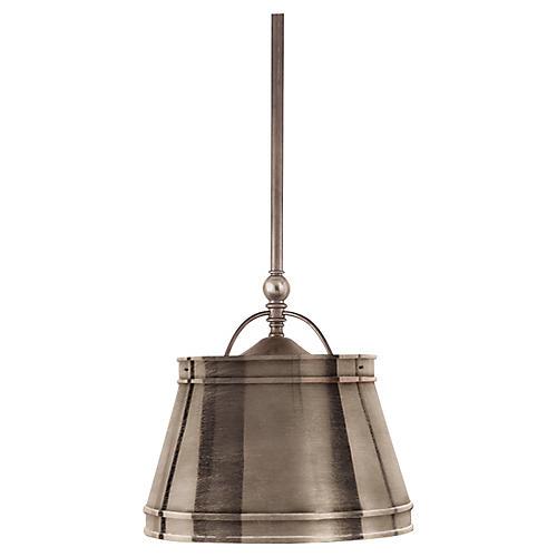 Sloane Single Shop Light, Nickel