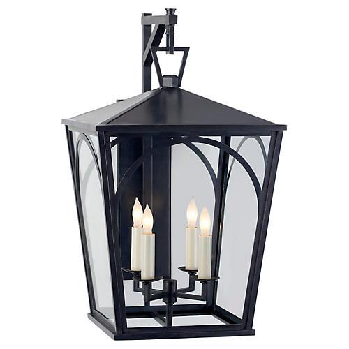 Darlana 4-Bulb Outdoor Wall Lantern, II