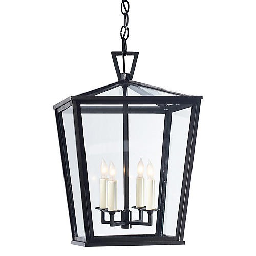 Darlana Four-Bulb Small Outdoor Lantern