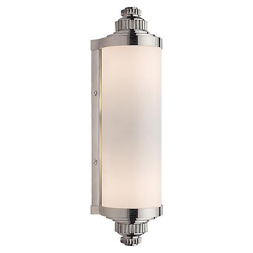 Ruhlmann Linear Sconce, Polished Nickel