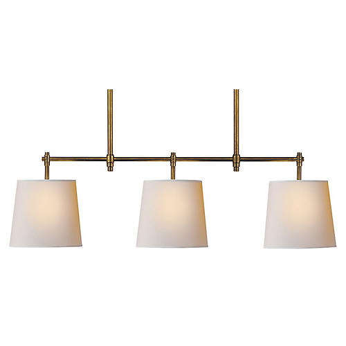 Bryant Linear Lighting, Brass