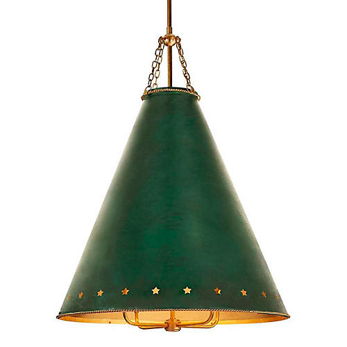 Hadley Pendant, Green