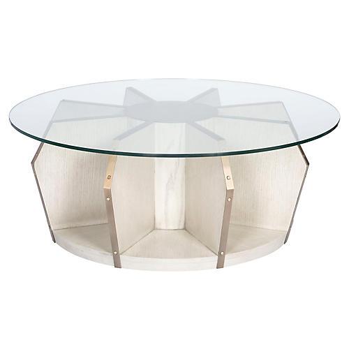 Cheeca Coffee Table, Whitewash