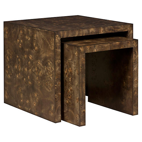 Asst. of 2 Rosun Nesting Tables, Espresso