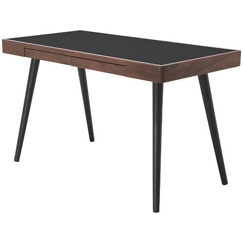 """Matt 49"""" Desk, Black"""