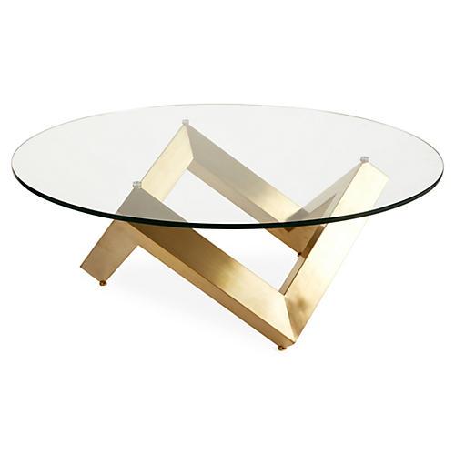 Como Coffee Table, Gold
