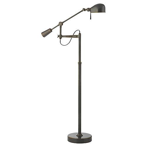 RL '67 Boom-Arm Floor Lamp, Bronze