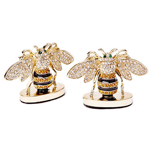 S/2 Bee Place Card Holders