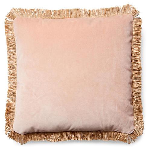 Celeste Pillow, Blush Velvet