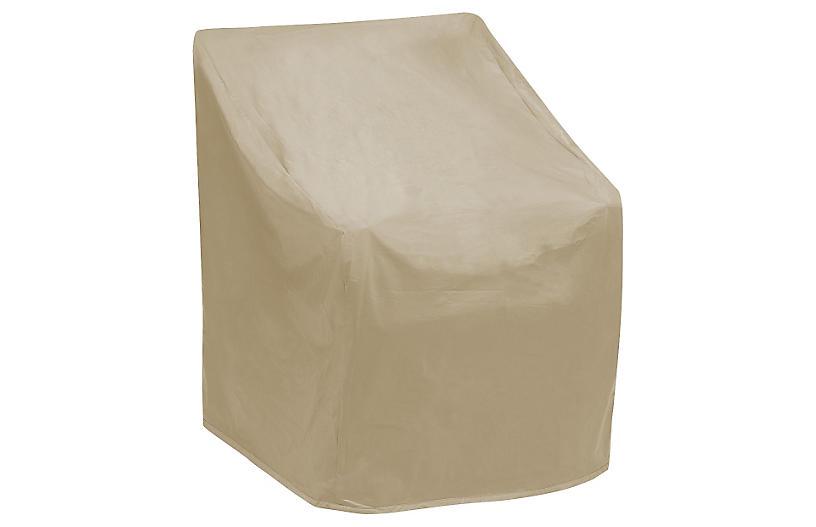 Wicker Chair Cover, Tan