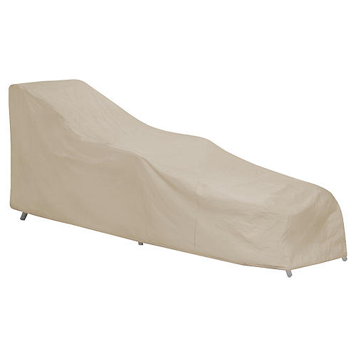 Chaise Cover, Tan