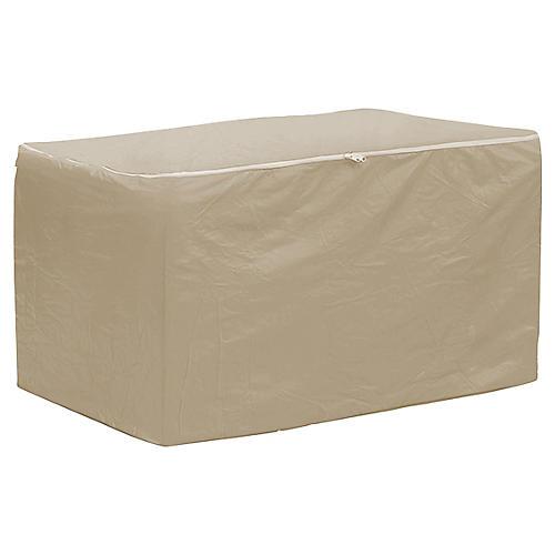 """75"""" Chaise Cushion Storage Bag, Tan"""
