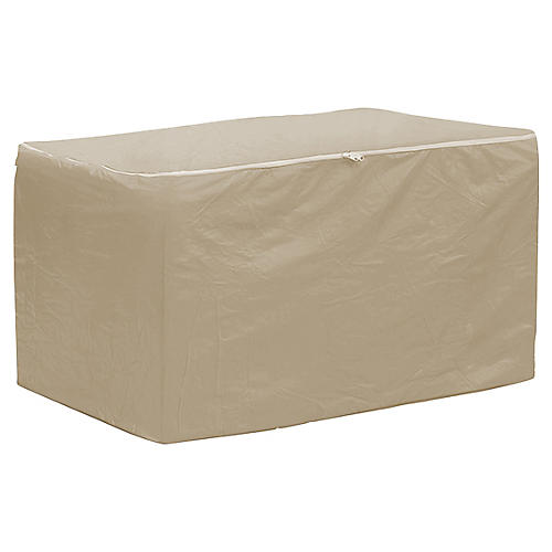 "75"" Chaise Cushion Storage Bag, Tan"
