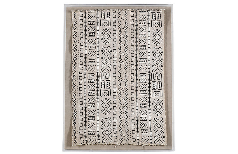 White Mud Cloth