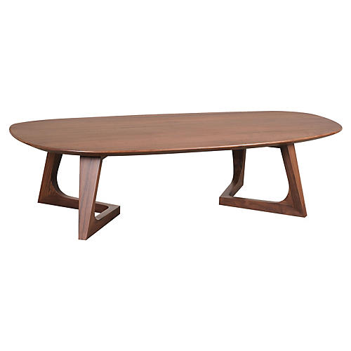 Minerva Coffee Table, Walnut