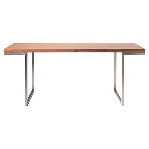 Repetir Dining Table, Walnut