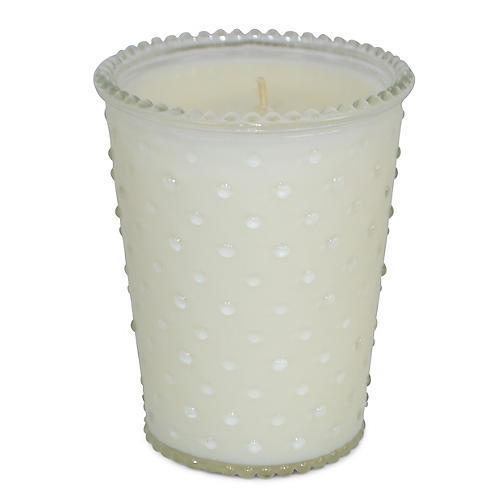 Hobnail Candle, Orange Blossom