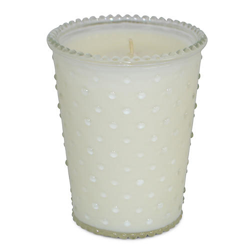 Hobnail Candle, Orange Blossom