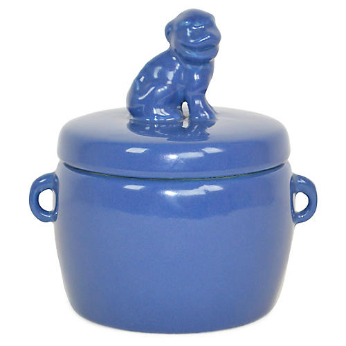 Solid Dog-Lid Candle, Gardenia
