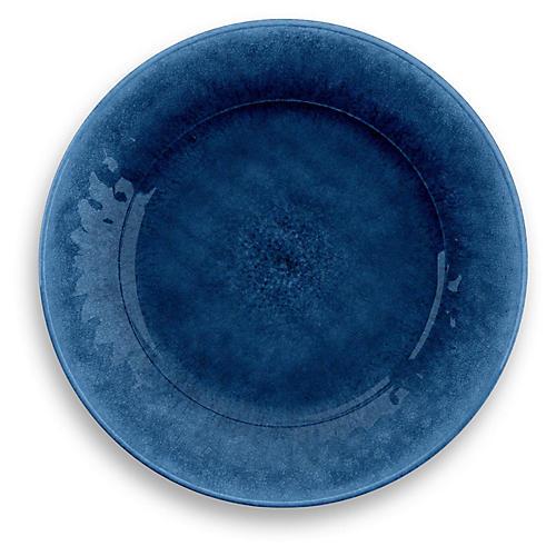 S/6 Potters Melamine Dinner Plates, Indigo