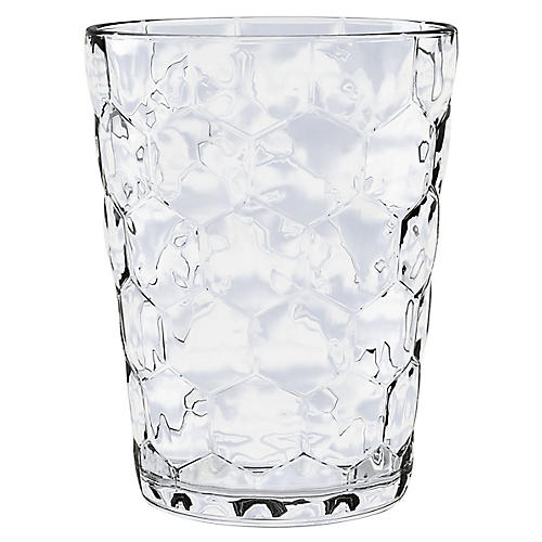 S/12 Honeycomb DOF Glasses, White