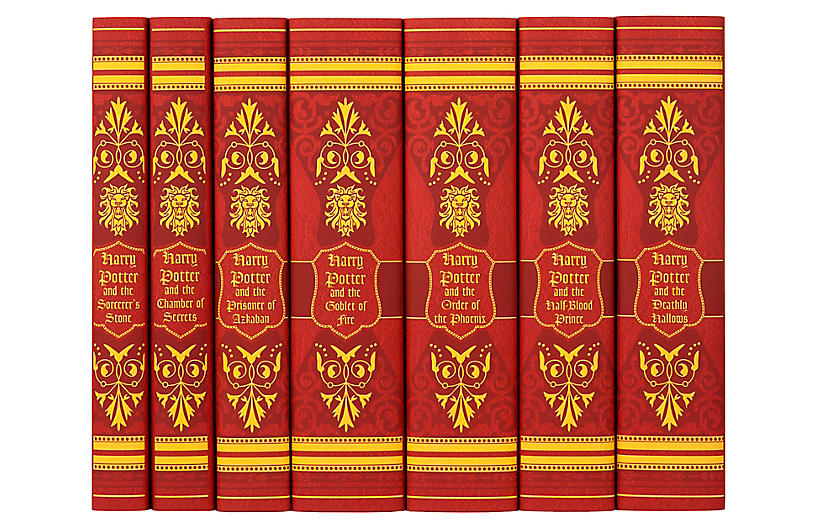 S/7 Harry Potter Gryffindor Book Collection