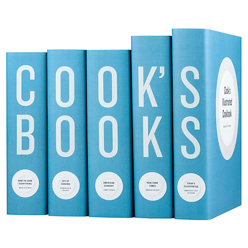 S/5 Cook's Books