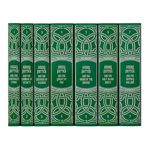S/7 Harry Potter Slytherin Book Collection