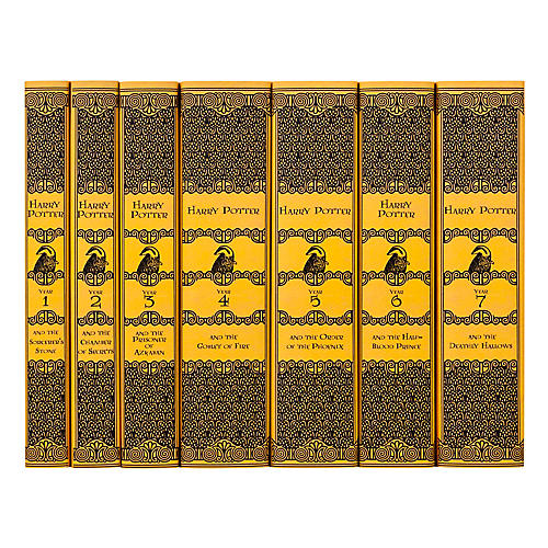 S/7 Harry Potter Hufflepuff Books
