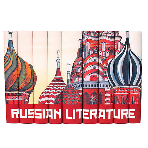 S/9 Russian Literature Book Collection