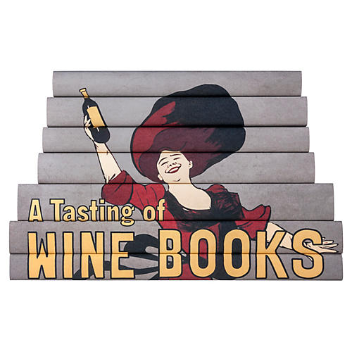 S/7 Decorative Wine Books