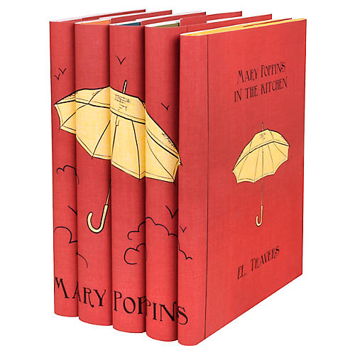 S/5 Mary Poppins Book Collection