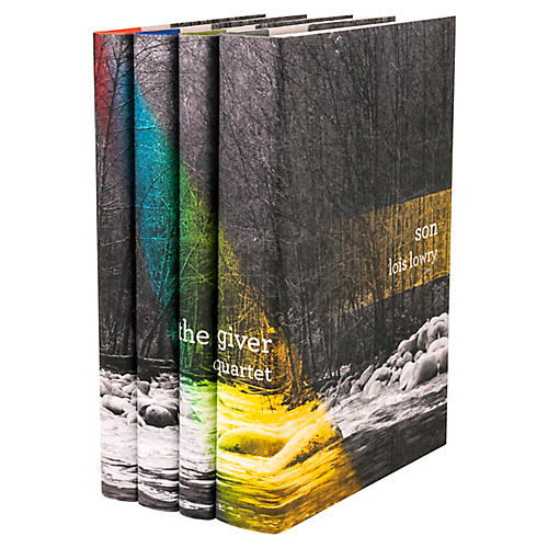 S/4 The Giver Quartet Book Set