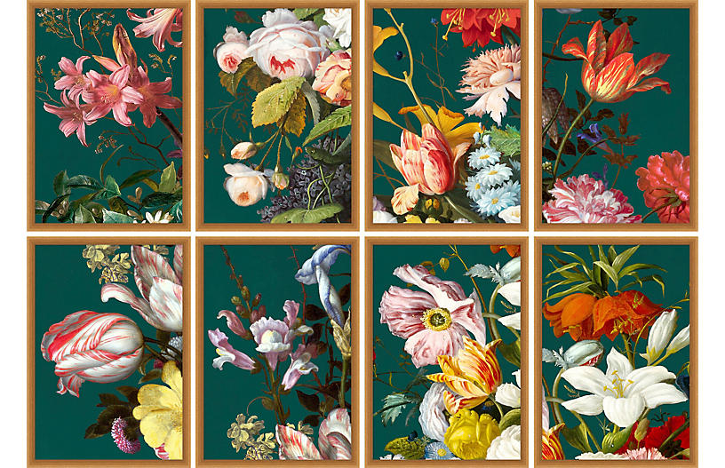 Lillian August, Baroque Bouquet 1-8