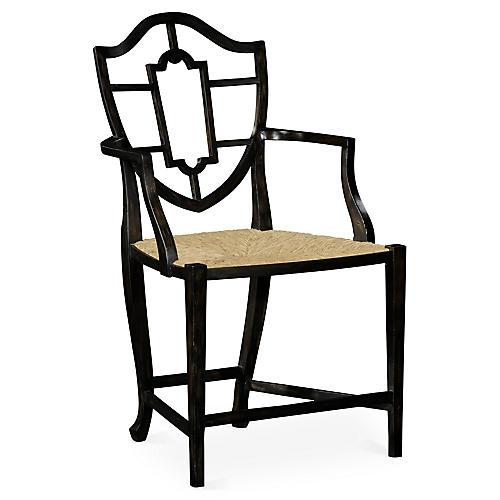 Aveburn Armchair, Charcoal Wash