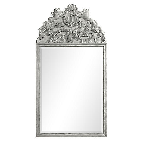 "Spey 32""x61"" Wall Mirror, Gray"