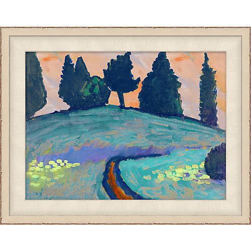 Blue Landscape