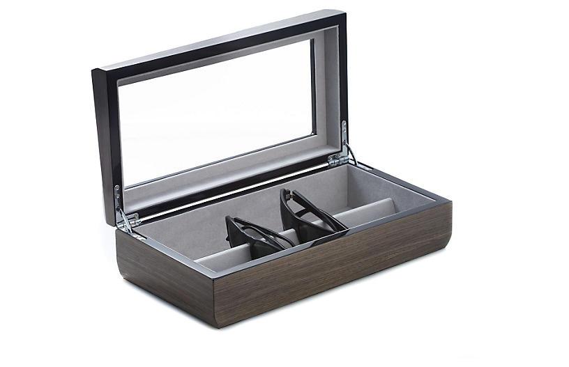 Ash Eyeglass Case, Gray