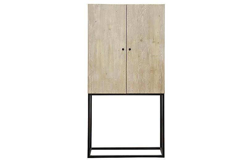 Jasmine Cabinet, Graywash