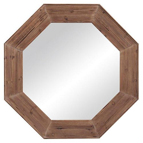"Hubbard 48"" Driftwood Mirror"
