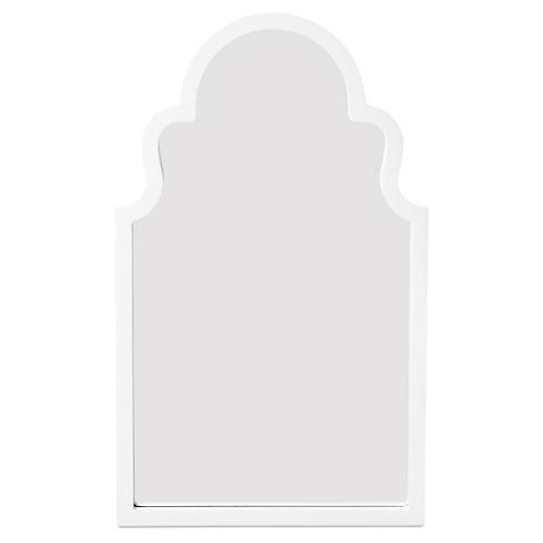 "Myrna 24""x40"" Wall Mirror, White"