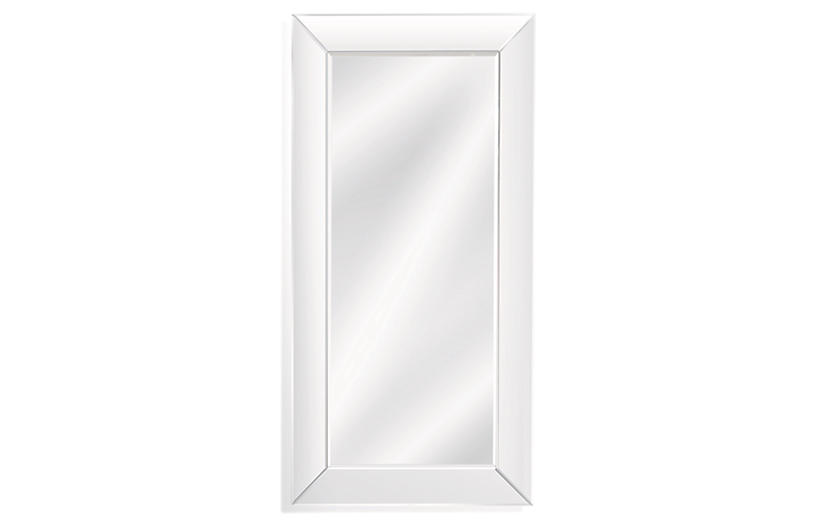 Whitman Floor Mirror, Mirrored