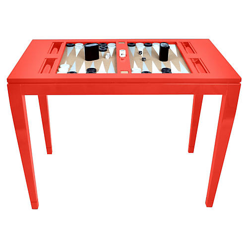 Backgammon Game Table, Fireworks