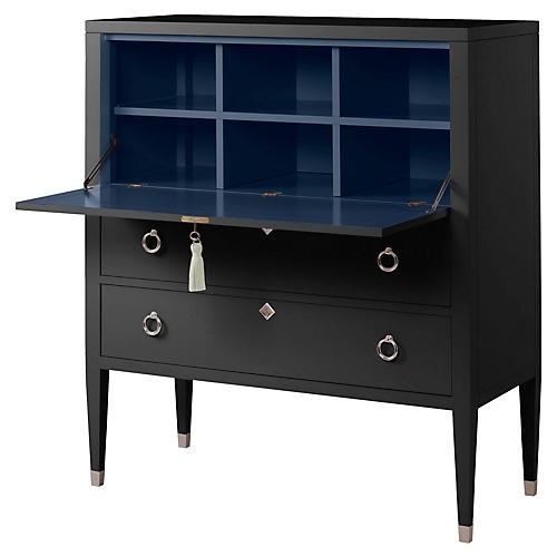 Easton Secretary, Black/Navy