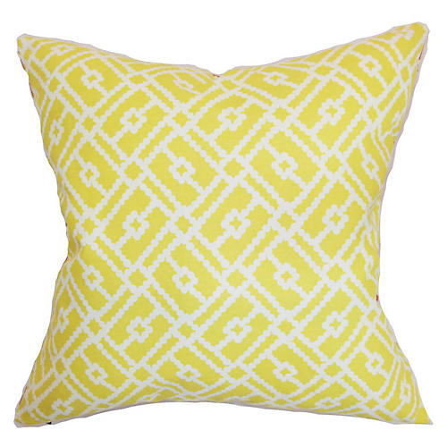 Majkin 18x18 Pillow, Canary
